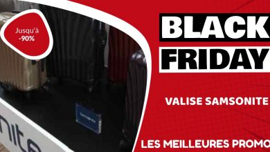 Valise Samsonite Black Friday : les meilleures offres et promos