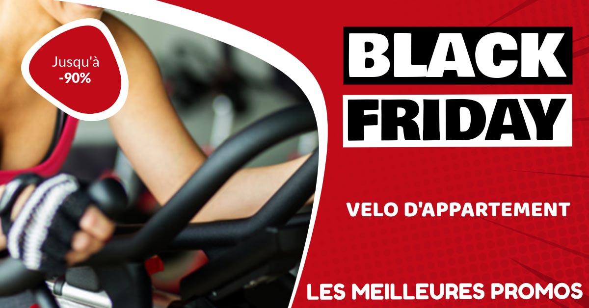 vélo d'appartement en promo black friday