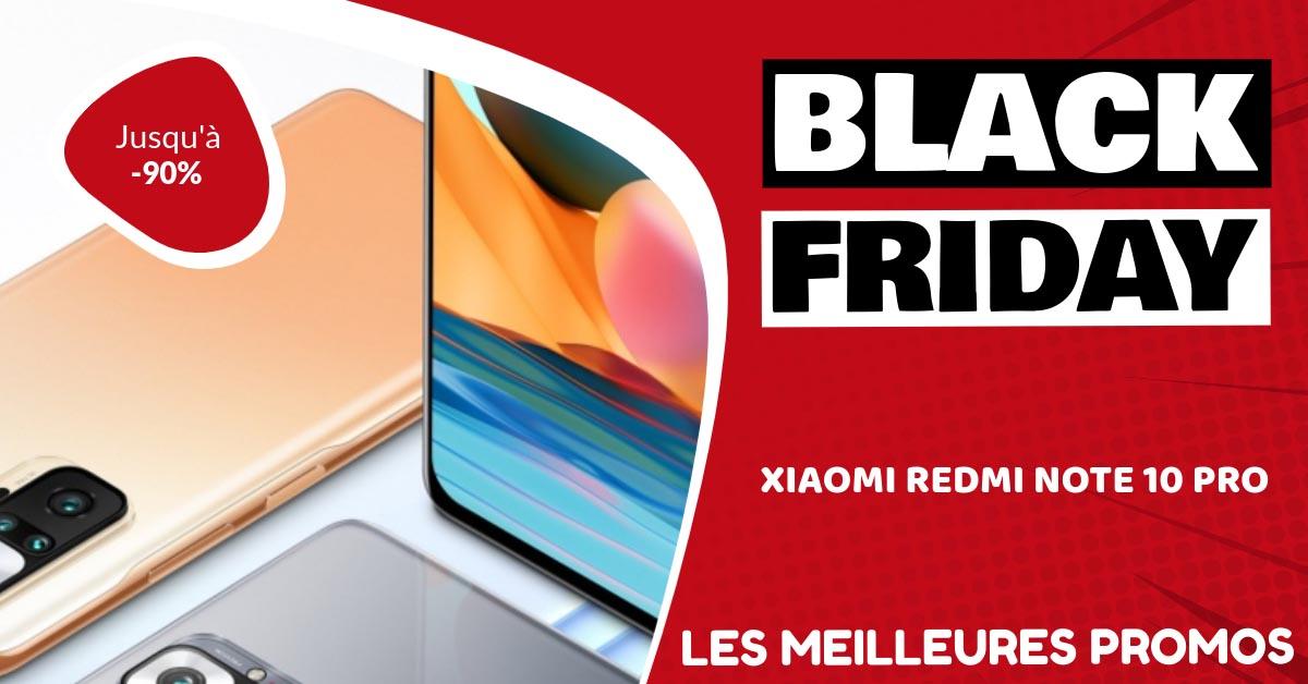 Xiaomi Redmi Note 10 Pro Black Friday : les meilleures offres et promos